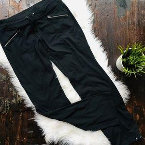 ATHLETA Black Athletic Athleisure Pants SMALL SP